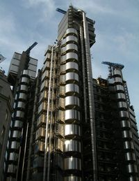 Лондон. Lloyds Building