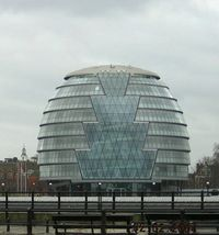Лондон. London City Hall
