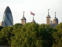 Лондон. 30 St Mary Axe