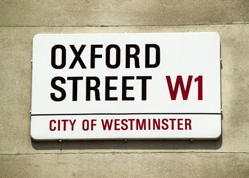 Улицы Лондона - Оксфорд-стрит